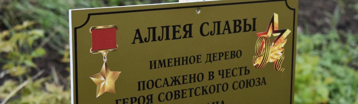 76-й годовщине Победы в Великой Отечественной войне в областном центре посвятили ряд мероприятий, в их числе открытие аллеи в честь липчан — Героев Советского Союза, погибших в годы войны.