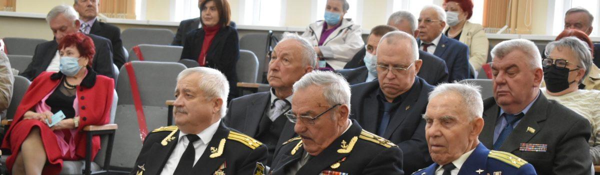 VIII отчётно-выборочная конференция Липецкого регионального отделения Всероссийской общественной организации ветеранов (пенсионеров) войны, труда, Вооружённых Сил и правоохранительных органов.